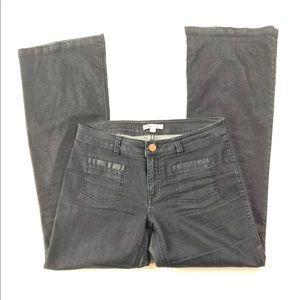 cAbi Malibu Flare Dark Blue Wide Leg Jeans Women